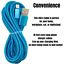 miniature 6 - 3Pack 10Ft USB Fast Charger Cable For Apple iPhone 12 11 8 7 6 XR Charging Cord