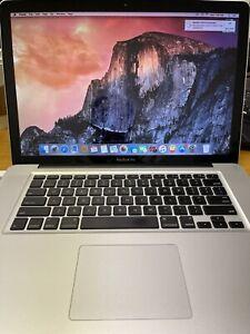 """Apple MacBook Pro A1286 15"""" 2.2 GHz Intel i7 8GB 128GB SSD ..."""