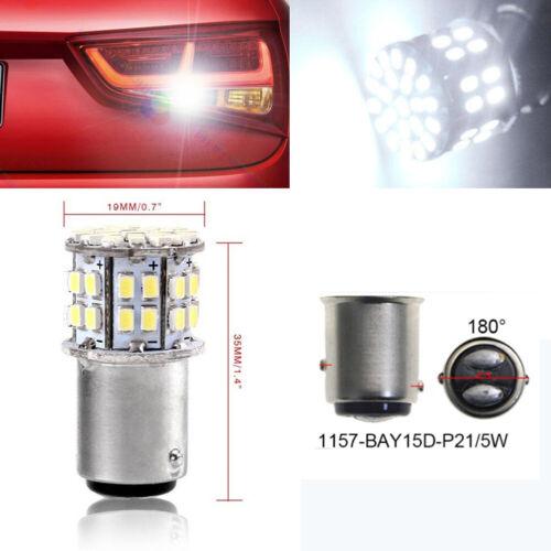 White Turn Brake DC12V DRL Car LED Bulb Signal Light 1157 BAY15D  Reverse Lamp