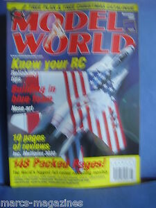RCMW-RC-MODEL-WORLD-NOVEMBER-2000-MORANE-SAULNIER-TYPE-H-PLANS-MANI-RIEDRICH