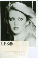 LORNA PATTERSON SEXY BEAUTIFUL PORTRAIT BOOK OF LISTS ORIGINAL 1982 CBS TV PHOTO