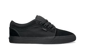 Image is loading Vans-CHUKKA-LOW-Black-Black-Casual-Skateboarding-VN-
