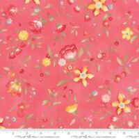 Moda Nanette By Chez Moi 33163 12 Rose Cotton Fabric Free Us Shipping