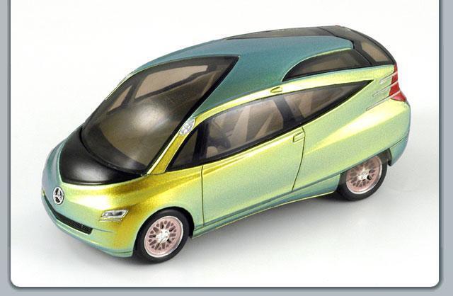 MERCEDES BENZ BIONIC CAR CONCEPT SparkModel verde 1 43