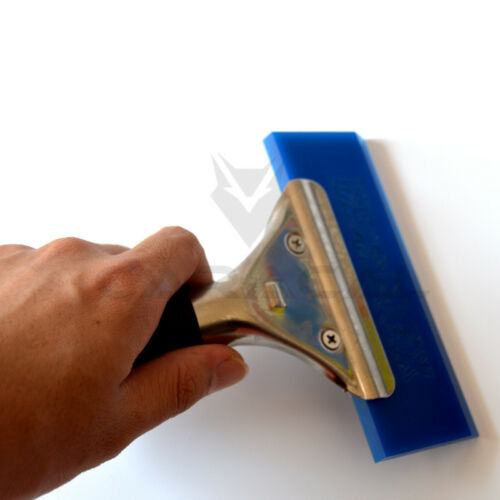 Auto Film Wrap Cleaning Tool Blue Max Squeegee W// Beef Tendon Pro Handle Scraper