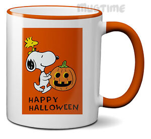 Image Is Loading Happy Halloween Snoopy Cute Coffee Tea Mug Cup