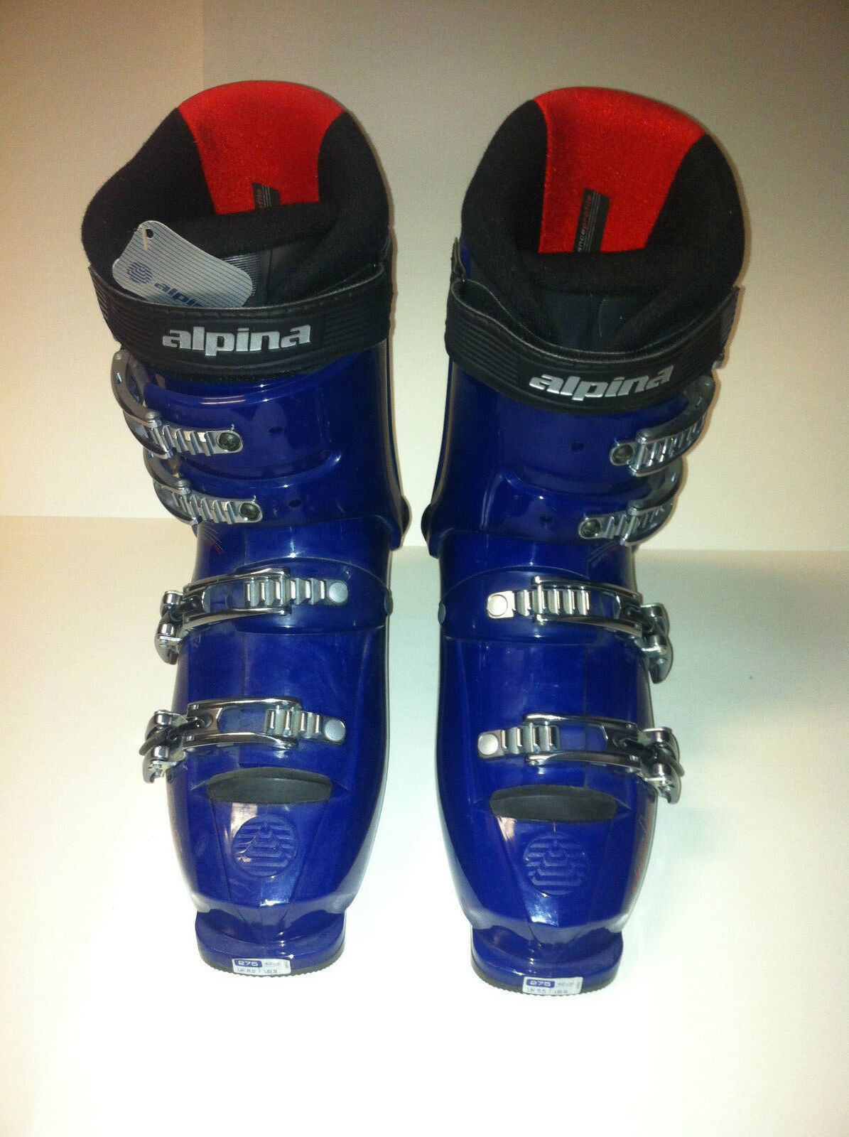 NEW with tags size 275 Alpina challenger ski boots mens size 9