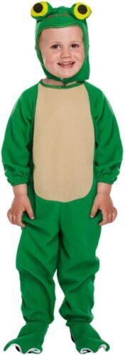 Boys Girls Toddler Frog Animal Fancy Dress Costume Jumpsuit Toddler Age 2-3