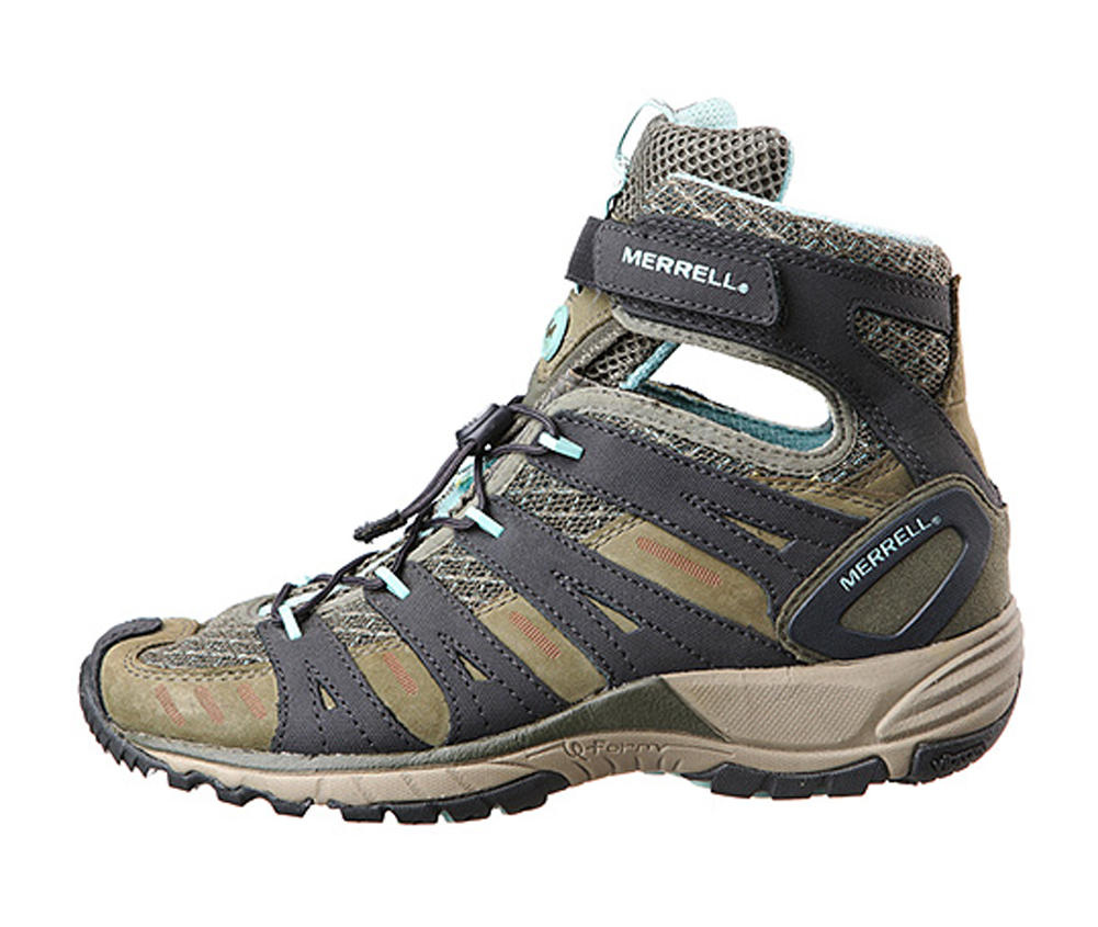 Merrell Donna Mid Avian Light Mid Donna Hiking Boots Trail Shoes 08e781