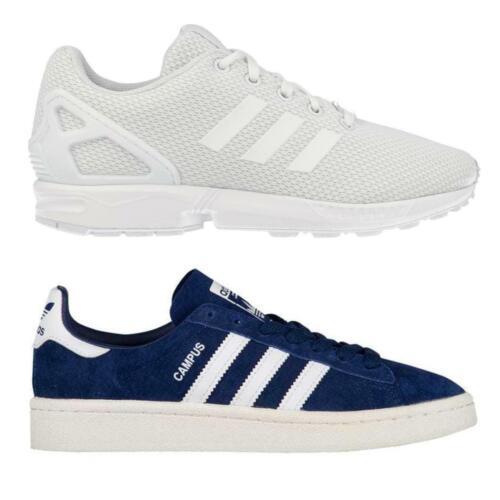 adidas Campus//ZX Flux Junior Originals Trainers~2 Colours
