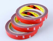 New 3M 20mm x3m Auto Car Acrylic Foam Double Sided Attachment Adhesive Tape uk