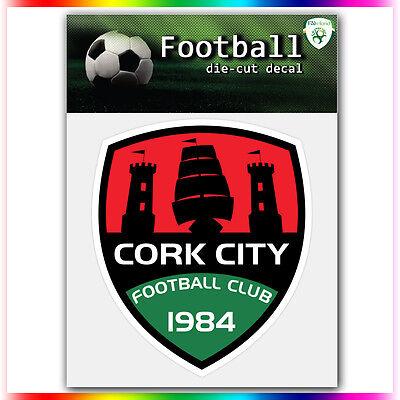 """Bangor City FC UEFA Die Cut Vinyl Sticker Car Bumper Window 4/""""x3.3/"""""""