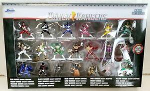 NEW Jada Toys 30771 Power Rangers 20-Pack Nano MetalFigs Mini-Figure Wave 1