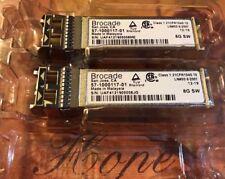 Lot of 100 Brocade XBR-000163 SFP 57-1000117-01 8Gb SW 100-652-598 BRSFP-N8GSW