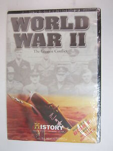 History-Channel-World-War-II-The-Greatest-Conflict-DVD-2004-BRAND-NEW-SEALE