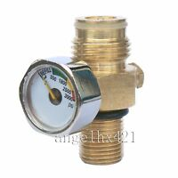 Paintball Co2 Tank Pin Valve With 3000 Psi Gauge With Thread Cover