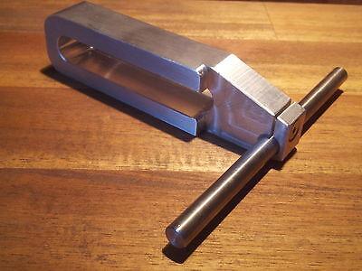 Edelstahl 120mmlang 13mm Nut CNC-Fräsmaschine BAZ Alu Werkstückanschlag