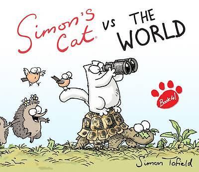 1 of 1 - SIMON'S CAT VS THE WORLD BOOK 4 NEW HARDBACK