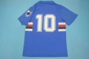 Maglia Sampdoria Mancini 10 scudetto 1991/1992 serie a vintage genoa scudetto