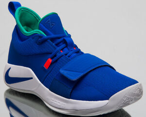 515275a90aa5 Nike PG 2.5 Fortnite Basketball Shoes Blue White Paul George ...
