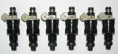 6x high impedance Fuel injector 23250-45011 For 1979-1988 TOYOTA 2.6L 2.8L V6