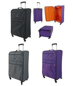 "27"" Large Super Lightweight Lightest 4 Wheel Spinner Suitcase ..."