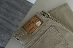 Joker Para Hombre Pantalones Vaqueros 32 34 W32 L34 Lavado A La Piedra Brauntop Ap8 Ebay