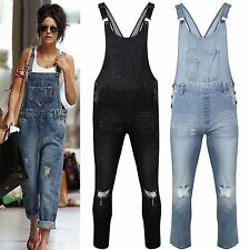 3064ffd688c6 item 1 Womens Ladies Celeb Denim Jeans Full Length Pinafore Overall  Jumpsuit Dungaree -Womens Ladies Celeb Denim Jeans Full Length Pinafore  Overall Jumpsuit ...
