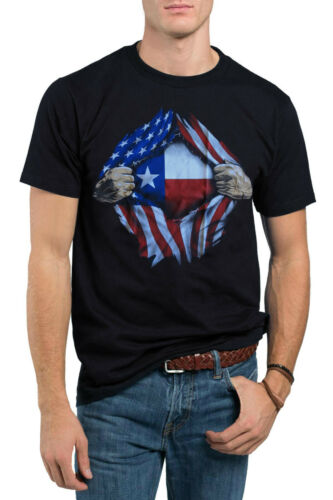 American Patriot Flag Superman Star Spangled Banner Gift Funny Graphic T-Shirt