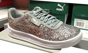 PUMA Women's California Glitz Silver