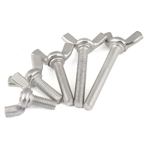 M4 M5 M6 Zinc Plated Carbon Steel Wing Bolt //Butterfly Wing Screw