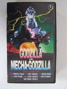Godzilla-Vs-Mecha-Godzilla-TOHO-Video-IMPORT-VHS-1993