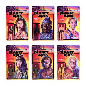 Sammeln & Seltenes Ehrlichkeit Planet Of The Apes Planet Der Affen 6 Figuren Reaction 3 3/4 Inch Figur Super7 Filme & Dvds