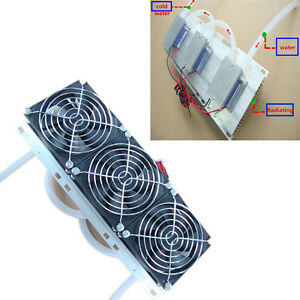Semiconductor Refrigeration Radiator Thermoelectric Cooler Water Cooling System