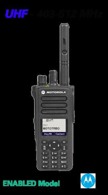 MOTOTRBO™ XPR™ XPR 7550e - UHF 403-512 MHz - COLOR DISPLAY DIGITAL PORTABLE