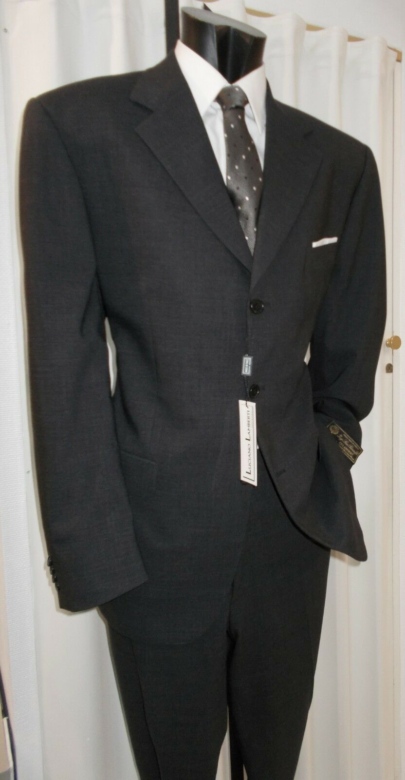Men's Suit T.58 Ceremony Elegant Invited Groom Dress Man Dress