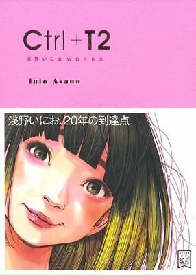 Ctrl T2 Asano Inio Illustration Works Art Book Japanese Manga Japan