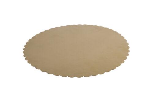 10 x Tortenunterlagen gewellt rund 335mm Tortenplatten Tortenscheiben K:358
