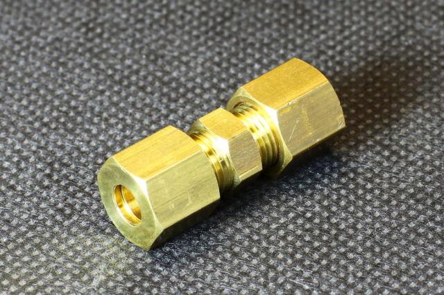2x Gerade Klemmringverschraubung / Rohr 4mm 5mm 6mm 8mm 10mm Klemmverschraubung