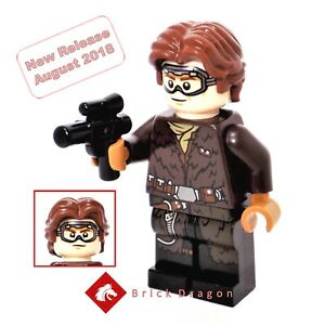 75217 sw0949 Star Wars Solo New Han Solo Official Lego Minifigure