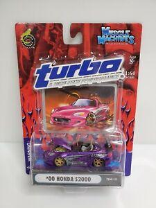Muscle-Machines-Turbo-amp-High-Tech-Performance-039-00-Honda-S2000-Purple-1-64-HTF