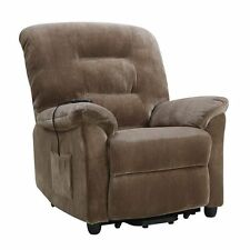 Coaster Power Lift Recliner in Brown Sugar  sc 1 st  eBay & Coaster 601025 Brown Power Lift Recliner Chair | eBay islam-shia.org
