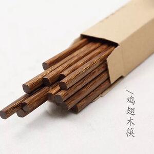 10 paare st bchen keine farbe wachs holz essst bchen wood chopsticks kuaizi ebay. Black Bedroom Furniture Sets. Home Design Ideas