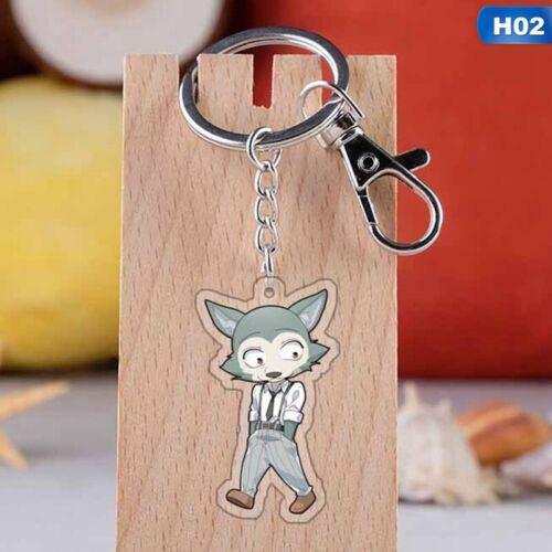 BEASTARS Anime Peripheral Acrylic Keychain Pendant @ev