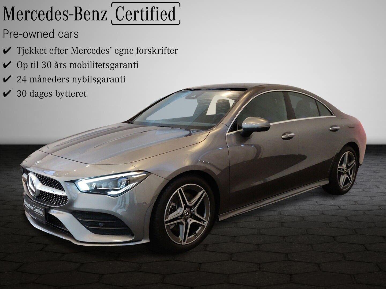 Mercedes CLA220 2,0 Advantage AMG aut. 4d - 519.300 kr.