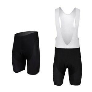 Black-Men-039-s-Bike-Shorts-Bib-Shorts-Compression-Padded-Cycling-Bib-Knicks