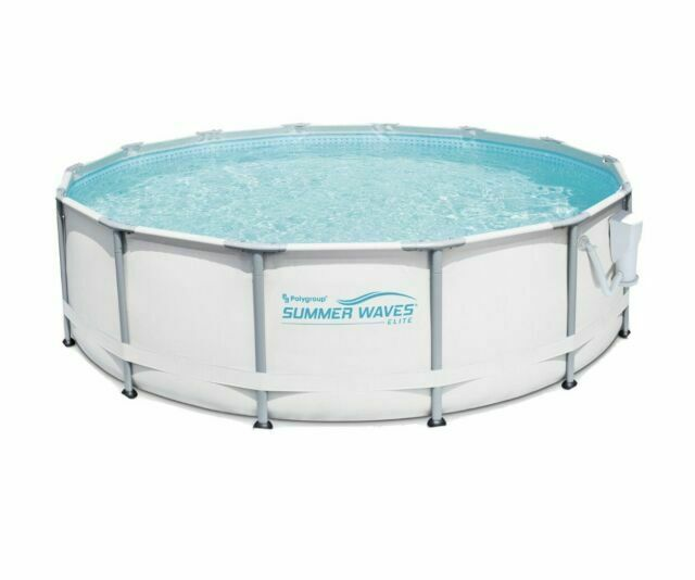 Summer Waves Elite 16 X48 Premium Frame Above Ground Swimming Pool For Sale Online Ebay
