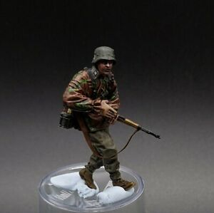 Painted-1-35-Scale-Waffen-Ss-Resin-Figure-1-35-ww2