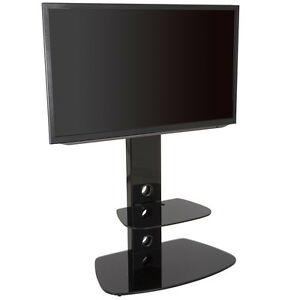 Gloss Black Tv Stand Cantilever With Lcd Led Tv Mount Bracket For 32