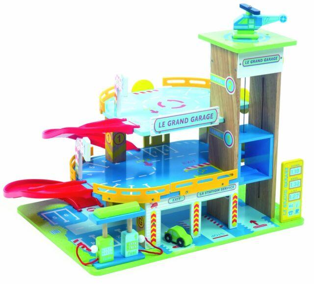 Le Grande Garage Wooden Toy LTV439